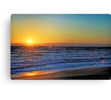 Sunrise V Canvas Print