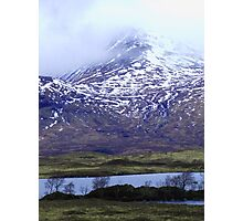 Winter Mountain 2 Photographic Print