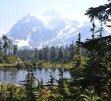 Mountain Lake by Leona Bessey