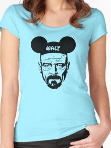 Walter White Breaking Bad Women's Fitted Scoop T-Shirt