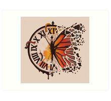 A Ruptured Time Art Print
