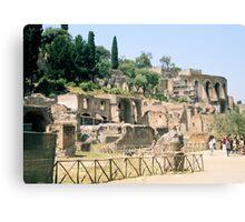 Roman Forum, Rome, Italy Canvas Print