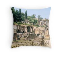 Roman Forum, Rome, Italy Throw Pillow