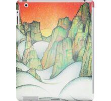 Foggy Cliffs iPad Case/Skin
