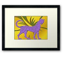 Gepard Framed Print