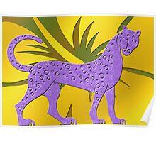 Gepard Poster