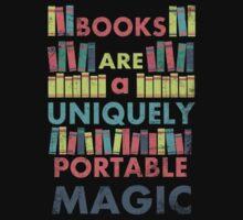 Books Are Magic Kids Tee