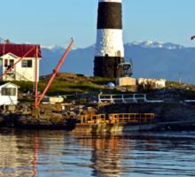 Lighthouse Reflected  Sticker