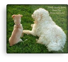 Family Security System Metal Print