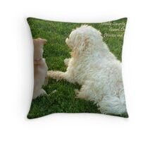 Family Security System Throw Pillow