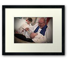 Oliver Dixon - Christening Framed Print