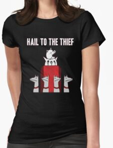 Hail to the Thief Womens Fitted T-Shirt