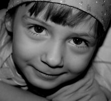 Innocence in Black & White by Expressions &  Reflections