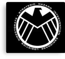 marvel agents of shield Canvas Print