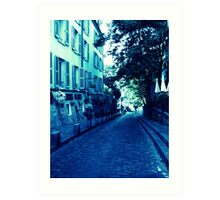 Back alleys Art Print