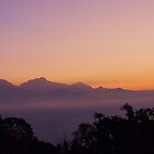 Sunrise over Annapurna Range by Suze Chalmers