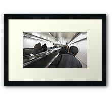subway stair Framed Print