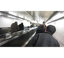 subway stair Photographic Print