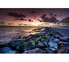 The Sunset Path Photographic Print