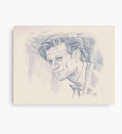Eleven - Doctor Who Canvas Print