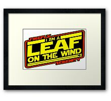Firefly Strikes Back Framed Print