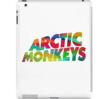 Colorful Arctic Monkeys logo iPad Case/Skin