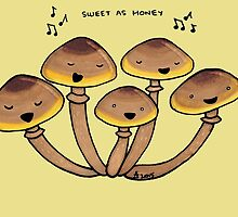 Honey Fungi by Immy