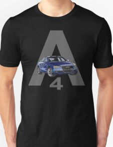 Audi A4 Pen and Ink Sketch 2 Unisex T-Shirt