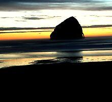Haystack Rock by Cindylou8370