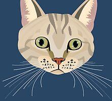 Tabby Cat by NirPerel