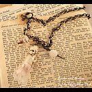 Doll Ghost Necklace by uglyshyla