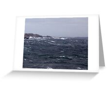 October Storm Greeting Card