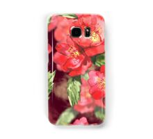 Watercolor Red Roses Samsung Galaxy Case/Skin