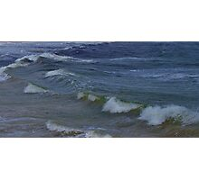 Incoming Waves on Bather's Beach Photographic Print