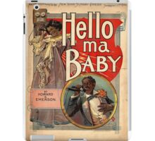 Hello, My Baby iPad Case/Skin