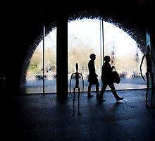 NGV Main Foyer - post Andreas Gursky by Daniel Sheehan