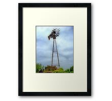 Old Historic Windmill Framed Print
