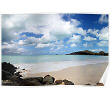 Carribean Calm Poster