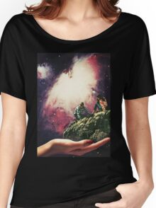 DON'T LOOK DOWN. Women's Relaxed Fit T-Shirt