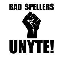 Bad Spellers Unite by AmazingMart