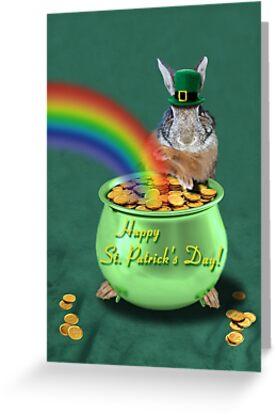 St Patrick's Day Bunny Rabbit by jkartlife