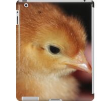 Fuzzy Easter Chick my hiney! I'm getting feathers! iPad Case/Skin