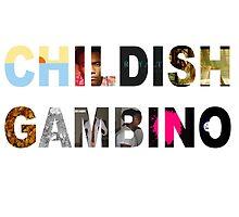 Childish Gambino Album Collage  by danstill97