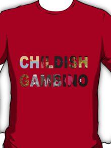 Childish Gambino Album Collage  T-Shirt