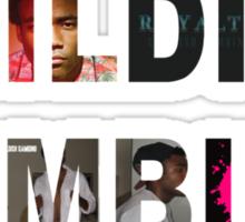 Childish Gambino Album Collage  Sticker