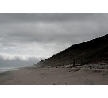 Misty Dunes Photographic Print