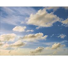 Late Day Sky Photographic Print