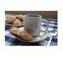 Grandma's Coffee Cookies (still life) Art Print