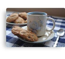 Grandma's Coffee Cookies (still life) Canvas Print
