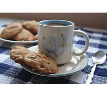 Grandma's Coffee Cookies (still life) Photographic Print